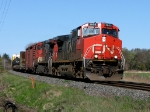 CN 2605 with 308 at Mile 260 Kingston Sub.